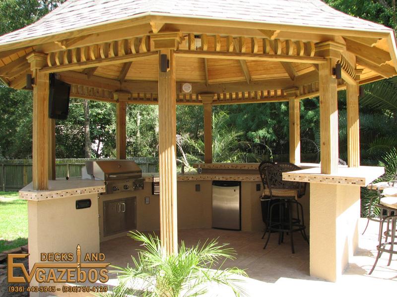 Beau Outdoor Kitchens U0026 Fireplaces By EV Decks U0026 Gazebos